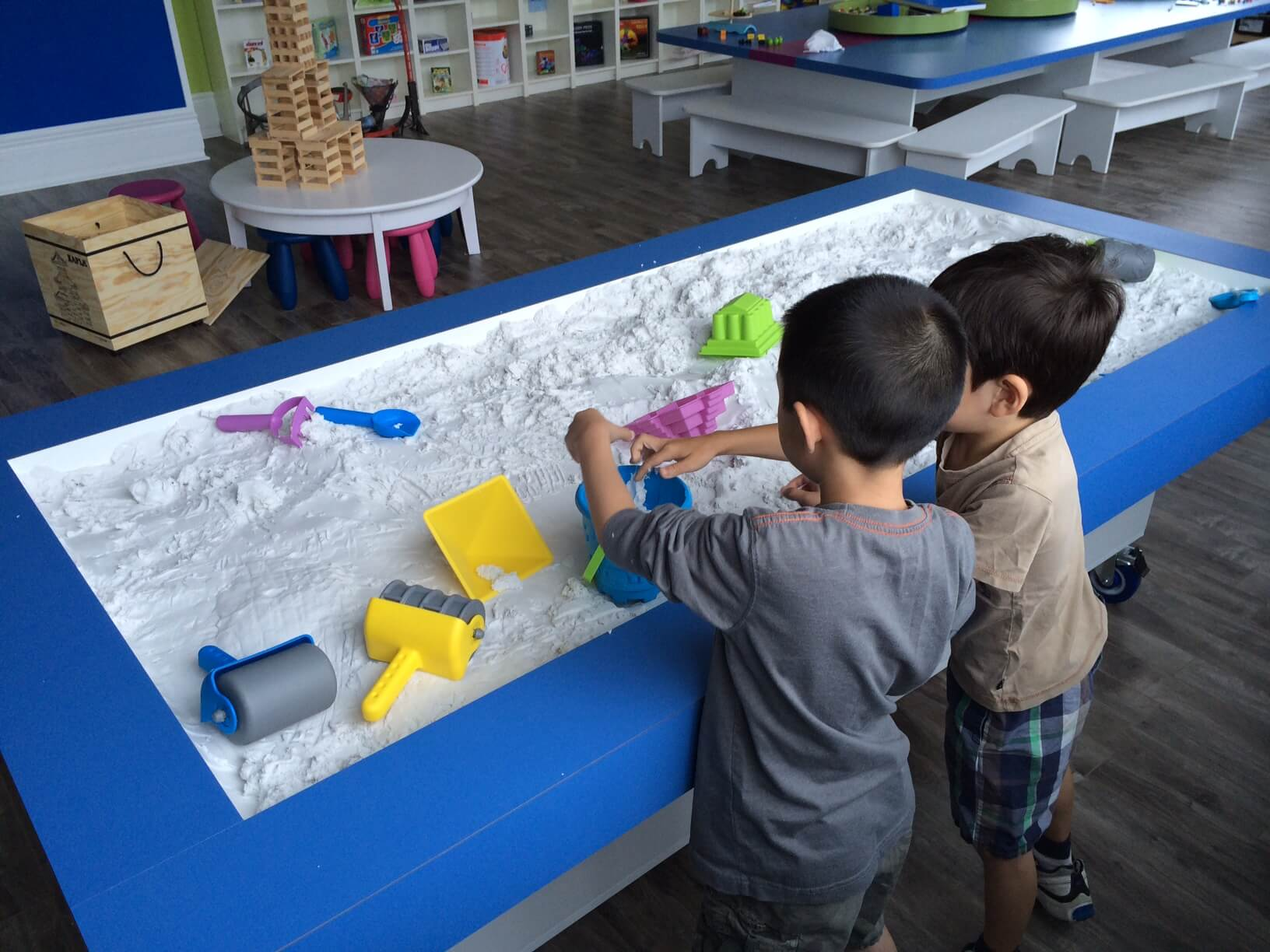 Sensory Exploration, Sandpit